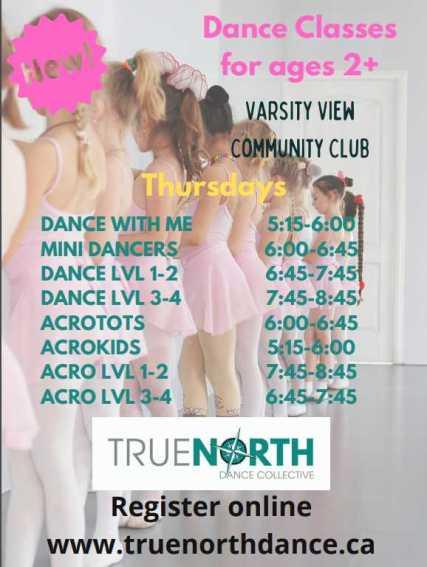 2020 vv dance poster